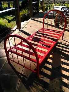 Two Steel tube frame beds McLaren Flat Morphett Vale Area Preview