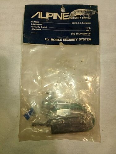 ALPINE   SECURITY SWITCH 8311   01U80000F76   SECURITY SYSTEMS   *FREE SHIPPING*