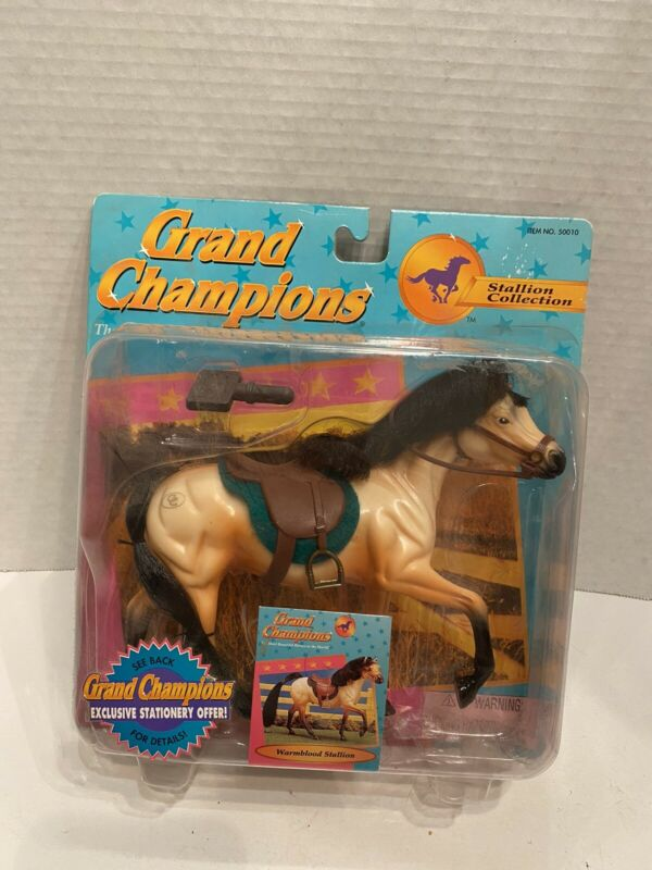 Vintage 1995 Empire Grand Champions Stallion Collection 'Warmblood Stallion' NIB