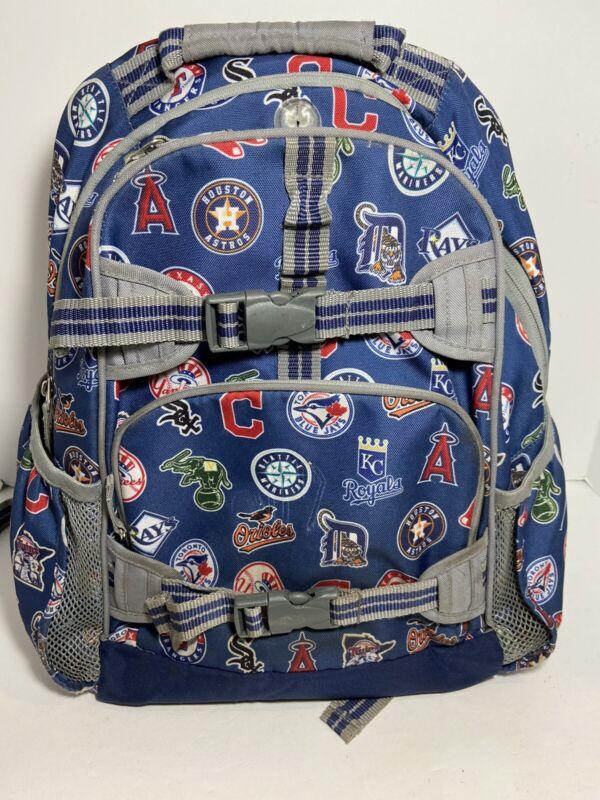 Pottery Barn Kids Mackenzie Backpack Major League Baseball Large