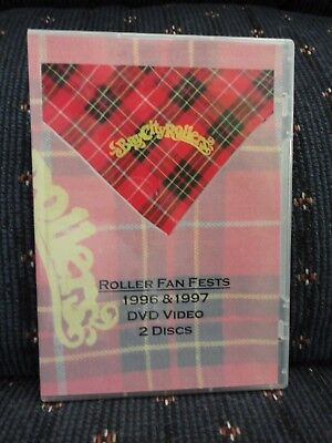 Bay City Rollers 2 DVD Fan Fests 1996 & 1997 Ian Mitchell, Pat, Nobby Clark USA