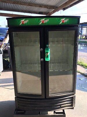 7-up True Gdm-35sl-rf Beverage Cooler 7up