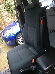 LTI / LTC TX1, TX2 & TX4 Fabric Drivers Seat. London black cab. Taxi Seat