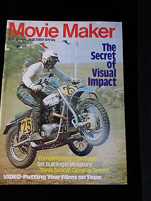 Movie Maker Magazine  October 1979  Like New