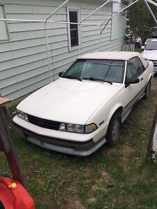 1989 Chevy cavalier z24