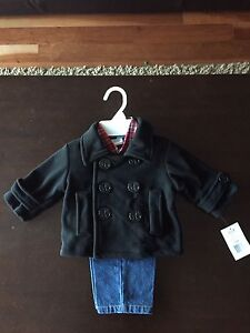 Boys pea coat 12 months