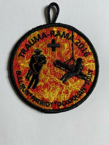 Trauma-Rama 2016 Bull Run Patriot Occoquan Sully NCAC Patch