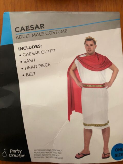 Adult Caesar costume one size   Other Men's Clothing   Gumtree