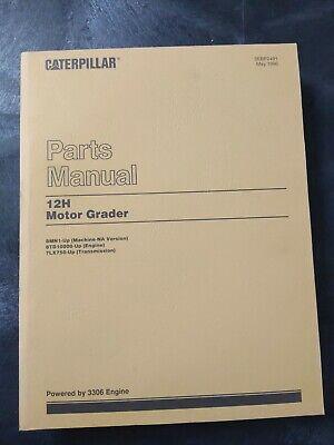 Cat Caterpillar 12h Motor Grader Parts Manual