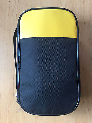 2x Soft Carrying Case For Fluke 233 287 289 87v 88v 28ii 1503 1507 1587 Cnx 3000