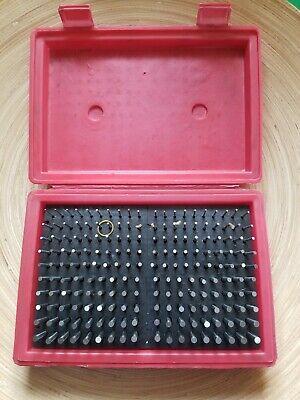 Mhc Model M2 Minus Plug Pin Gage 180 Pcs Set