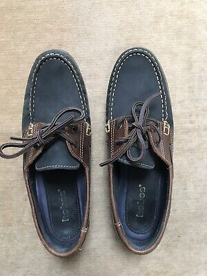 Mens HOBOS Deck Shoes Size 10 UK