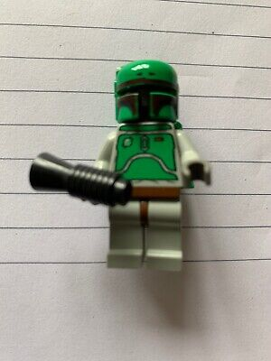Genuine LEGO Star Wars Minifigure Boba Fett Mini Figure 6210 4480 Fig
