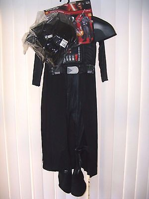 Star Wars Photo Real Darth Vader Youth Costume Small 4-6 (Age 3-4)Boys Child~NWT - Real Darth Vader Costume