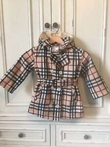 Authentic Girls Burberry Trench Coat