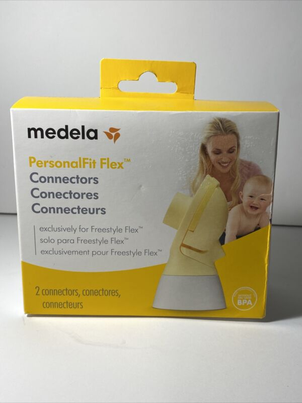 Medela Breast Shields PersonalFit Flex Box Of 2 Shields Connectors