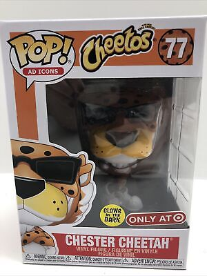 Funko Pop! Ad Icons - Chester Cheetah (Glows in the Dark) Vinyl Figure...