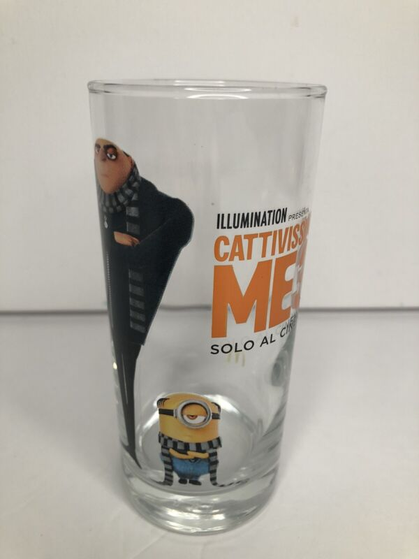 McDonalds Italian Despicable Collectible Movie Drinking Glass MUST SEE🤩