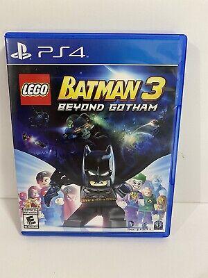 Lego Batman 3 Beyond Gotham - PS4, Playstation 4 - Complete - Fast Free Shipping