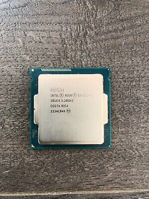 Intel Xeon E3-1225 v3 3.20GHz 8MB SR1KX Socket FC LGA1150 Server Processor CPU