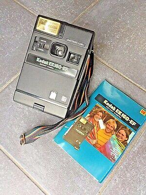 Vintage Kodak EK160-EF Instant camera, bag & instructions