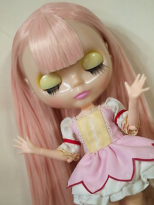 Takara Neo Blythe Nude Doll from Factory - New 4 Translucent Face+Azone L Body