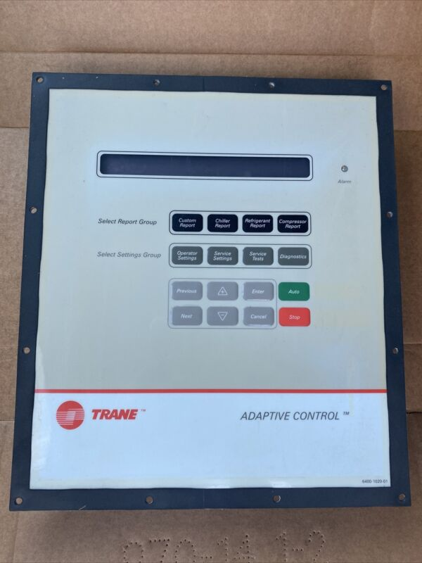Trane X13650782-04 Adaptive Control Panel Chiller / Centrifugal / With Backplate