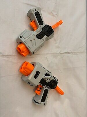 Nerf Guns Triple Shot One Shot Lot Of 2 Darts Guns No Darts