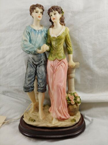 "Vintage - LAVIE STYLE # F101 ""Young Love"" 8"" Figurine LEVITZ FURNITURE"
