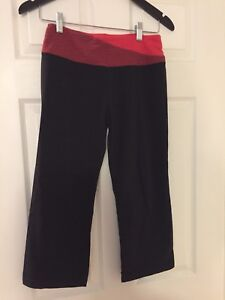 Black capris from Costco, size small