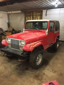 Parting out jeeps