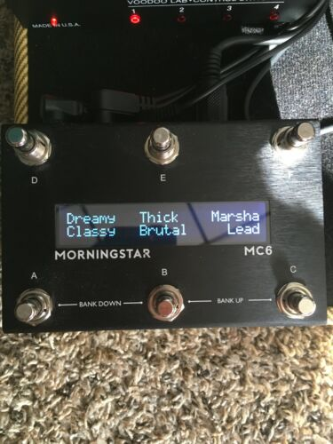 Multifunctional Midi Foot Controller Morningstar Mc6 Mk2