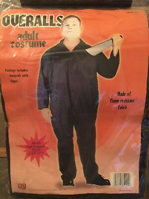 RG Overalls Halloween Costume **NEW**: Size 42-50 (flame resistant - Halloween Costumes Overalls