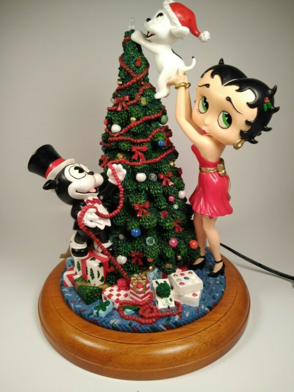 Danbury Mint Betty Boop Light up Christmas Tree IOB
