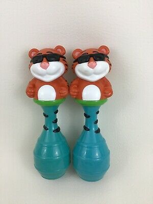 Baby Genius Toy Maracas Musical Instrument Tempo The Tiger 2pc Lot](Baby Maracas)