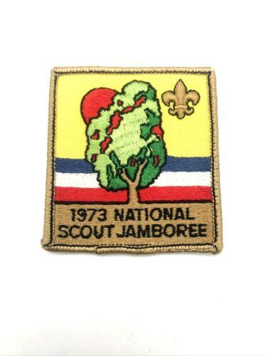Vintage1973 Boy Scout National Scout Jamboree Patch