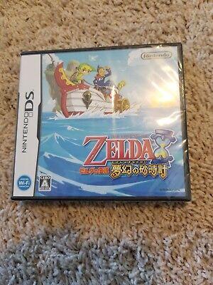 JAPANESE Legend of Zelda Phantom Hourglass Nintendo DS NDS Japan US Seller NEW