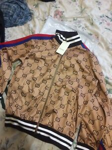 Gucci tracksuit (brown)