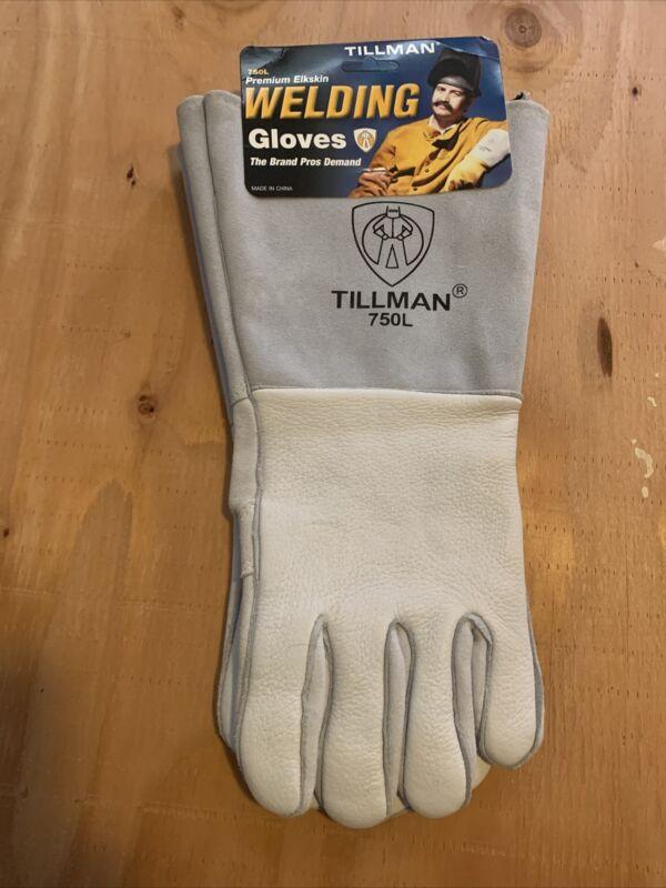 Tillman 750L Welding Gloves,Stick,L,Reinforced,Pr