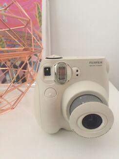 Polaroid camera white