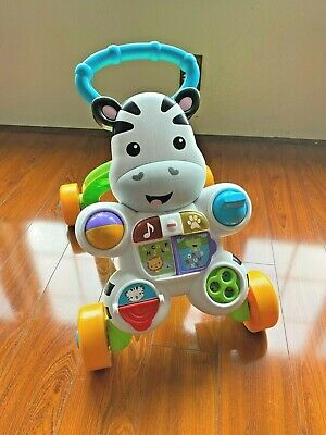 Fisher-Price Learn with Me Zebra Musical Activity Walker Girl Boy Toy