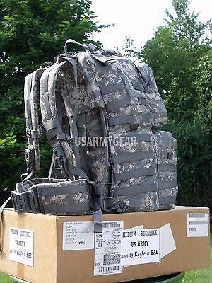 Made in USA Military Army ACU Medium Rucksack Backpack Bug Out USGI Survivor Bag