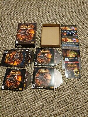 World of Warcraft expansion Warlords of Draenor Complete w/ Digital Exp Card