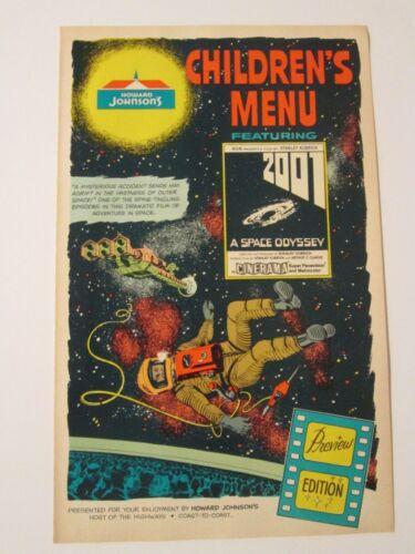 2001 : A Space Odyssey- Rare Cinerama Promo 1968 - Kubrick