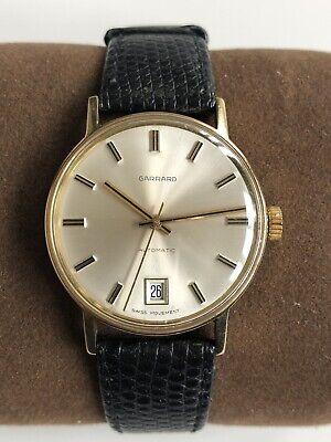 Garrard Automatic 9ct Gold Presentation Men's Watch Model 84392