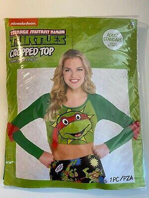 Halloween Teenage Mutant Ninja Turtle Cropped Top Adult - Ninja Turtle Halloween Kostüme