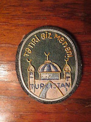 WW2 German elite division Turkistan foreign volunteer patch