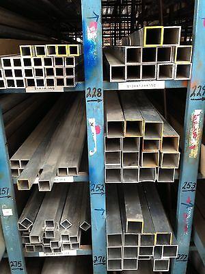 Aluminium Square Tubing 1.5 X 1.5 X .125 18 X 60