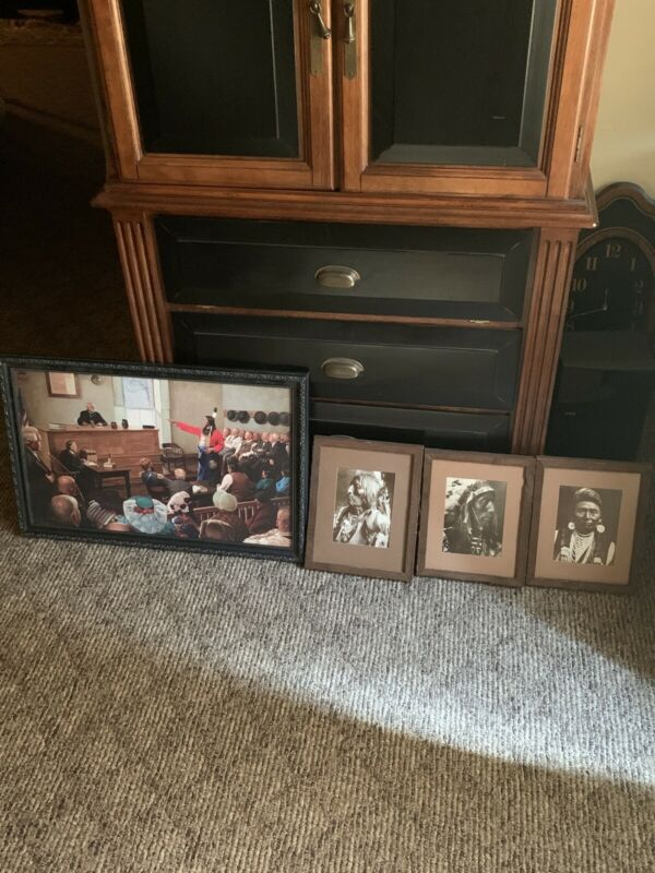 4 Old Native American Pictures