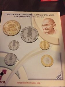 India 75 years of RBI proof set